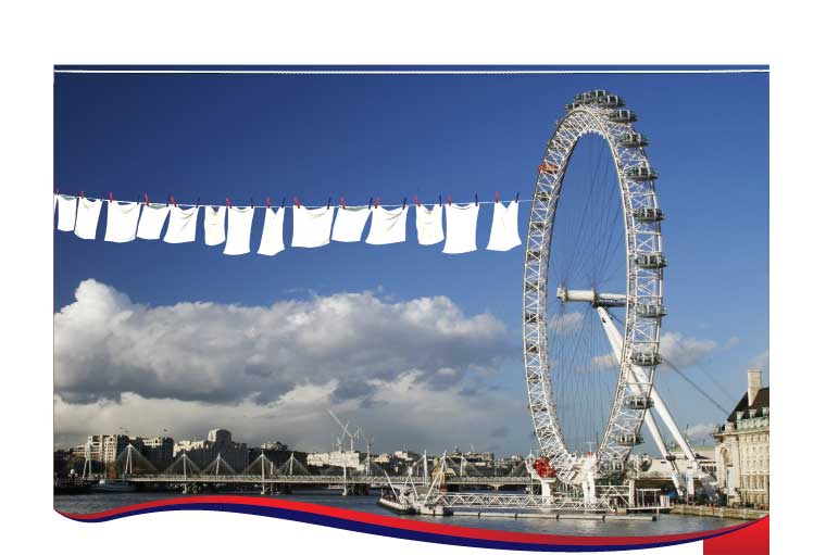 Laundry services in London - get in touch with the National Laundry Group